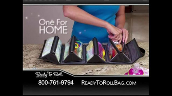 Ready to Roll Bag TV Spot - 3 commercial airings