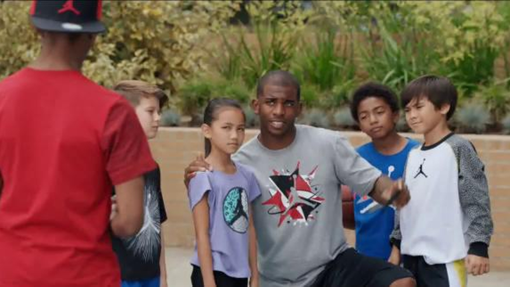 Kids Foot Locker Jordan TV Spot, 'Selfie' Featuring Chris Paul - Screenshot 7