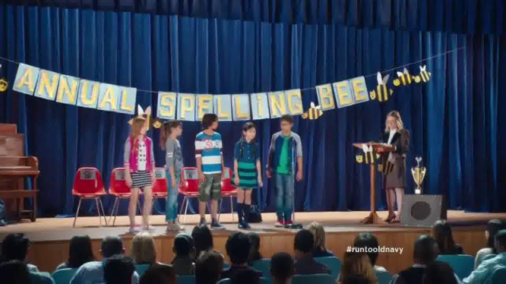 Old Navy Back to School Sale TV Spot, 'Spell Me This' Featuring Amy Poehler - Screenshot 1