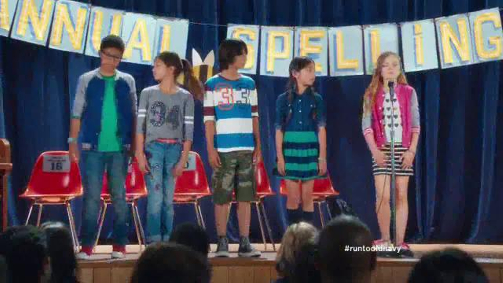 Old Navy Back to School Sale TV Spot, 'Spell Me This' Featuring Amy Poehler - Screenshot 2