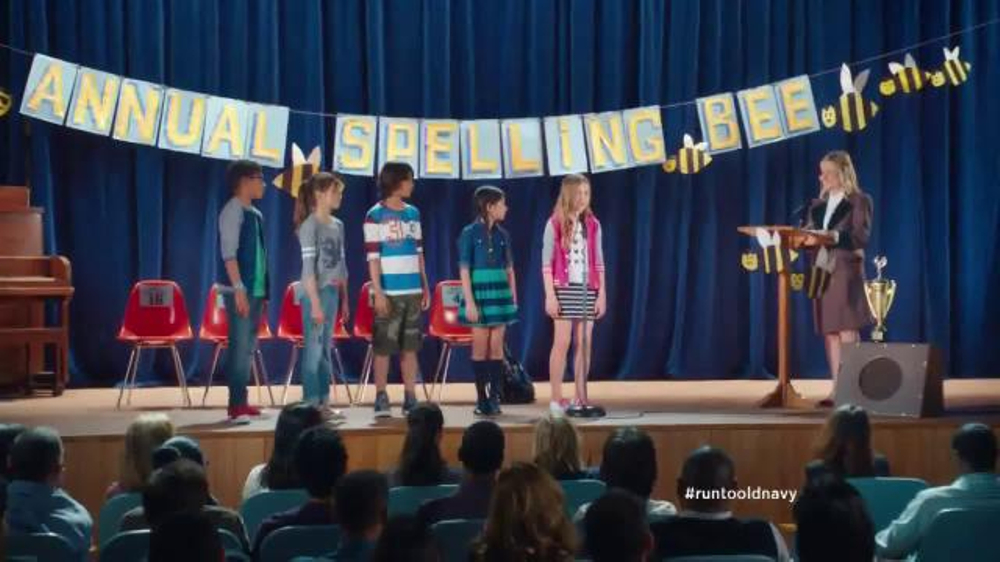 Old Navy Back to School Sale TV Spot, 'Spell Me This' Featuring Amy Poehler - Screenshot 5