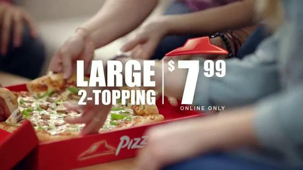 Pizza Hut TV Spot, '$7.99 Online Deal' - Screenshot 2