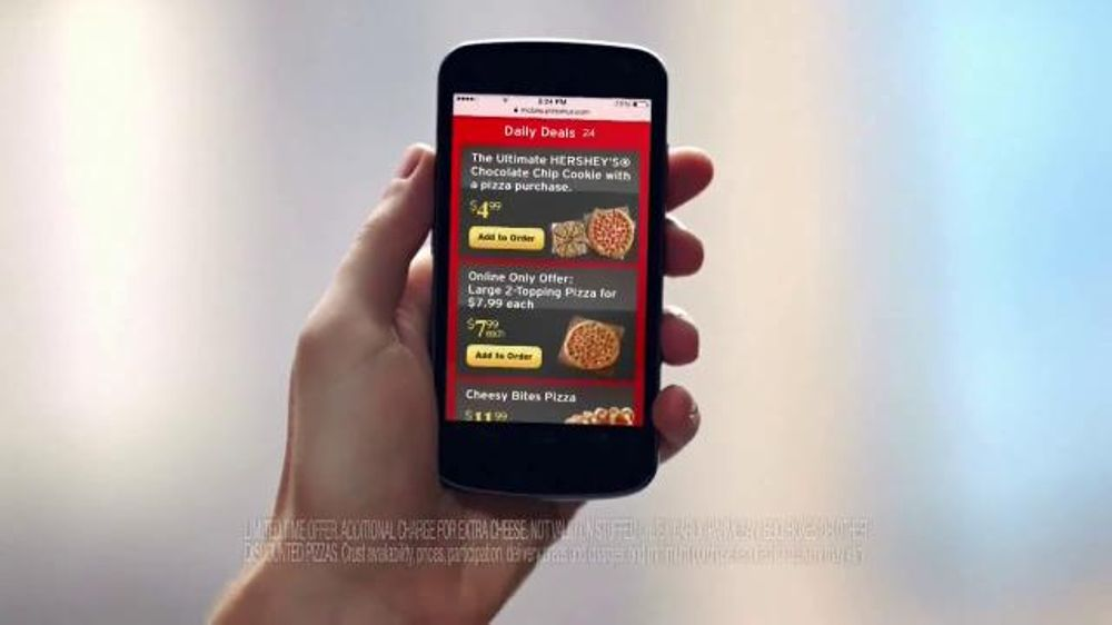 Pizza Hut TV Spot, '$7.99 Online Deal' - Screenshot 4
