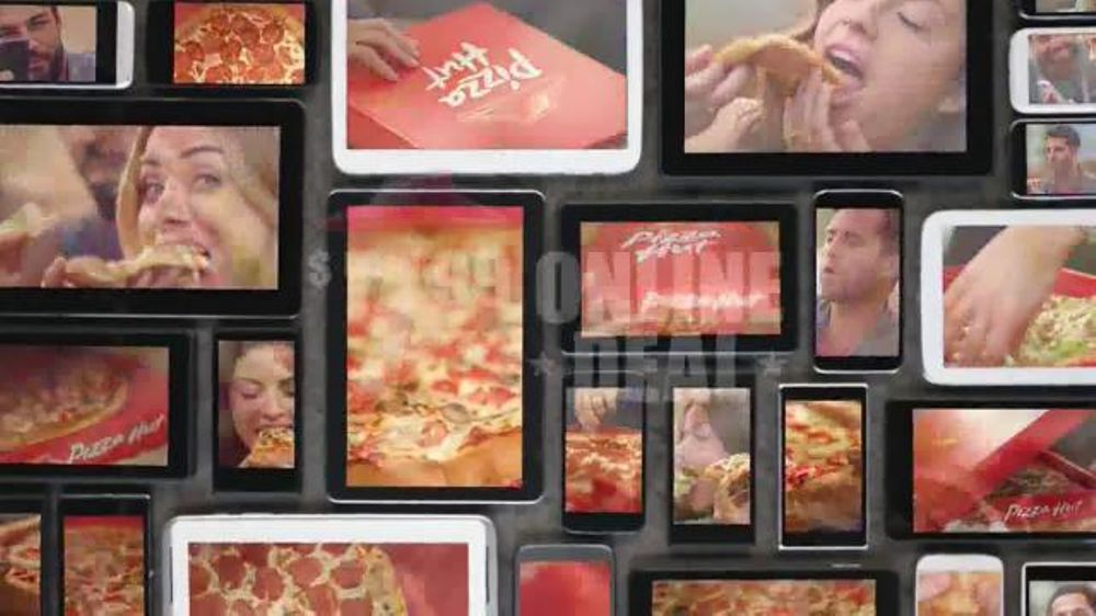 Pizza Hut TV Spot, '$7.99 Online Deal' - Screenshot 7
