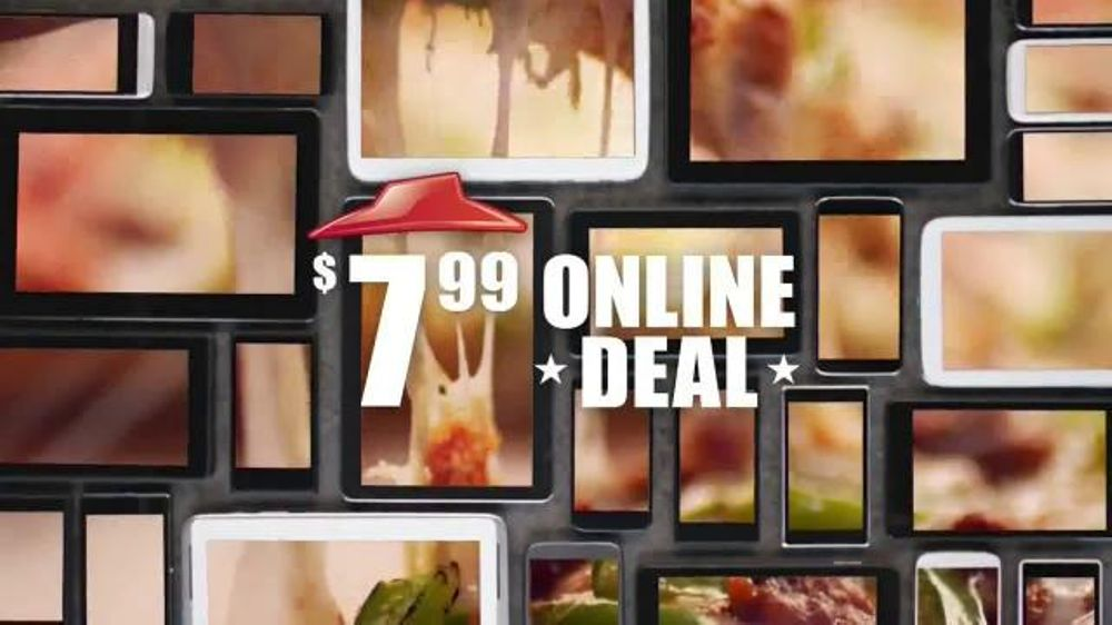 Pizza Hut TV Spot, '$7.99 Online Deal' - Screenshot 8