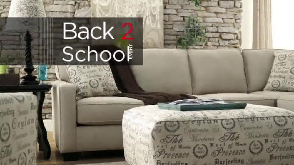 Ashley Furniture Homestore Back 2 School Event Tv