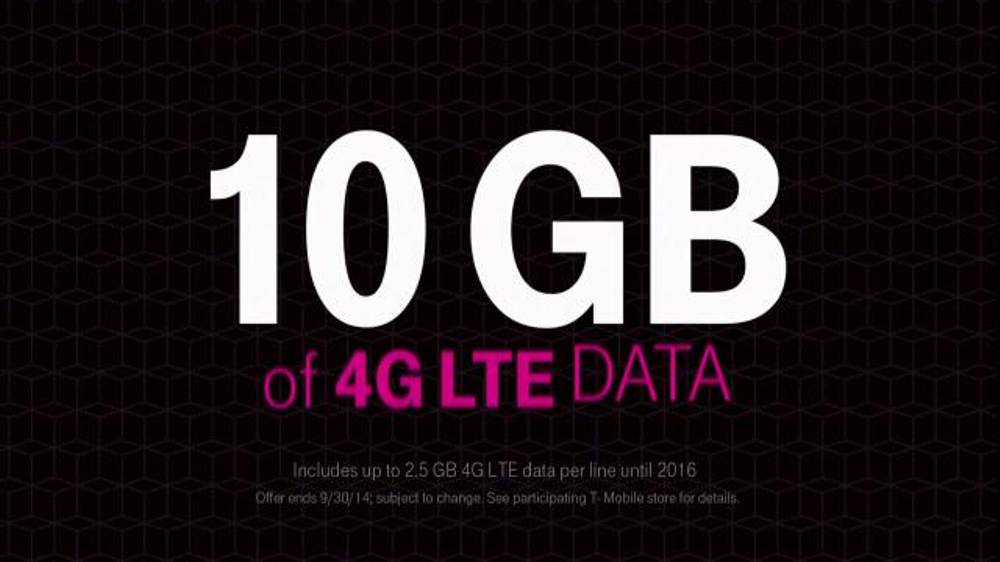 T-Mobile TV Spot, 'Four Lines for $100 a Month' - Screenshot 7