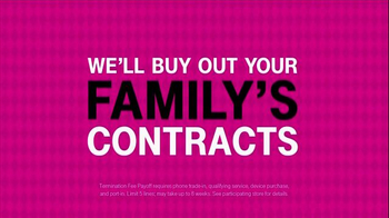 T-Mobile TV Spot, 'Four Lines for $100 a Month' - Thumbnail 9