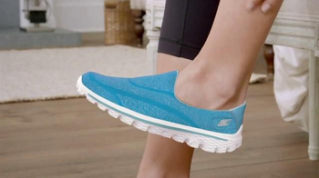 Skechers GoWalk 2 TV Spot, '50% Shoe, 50% Sock'