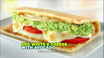 Subway Egg White & Cheese With Avocado TV Spot, 'Bus'
