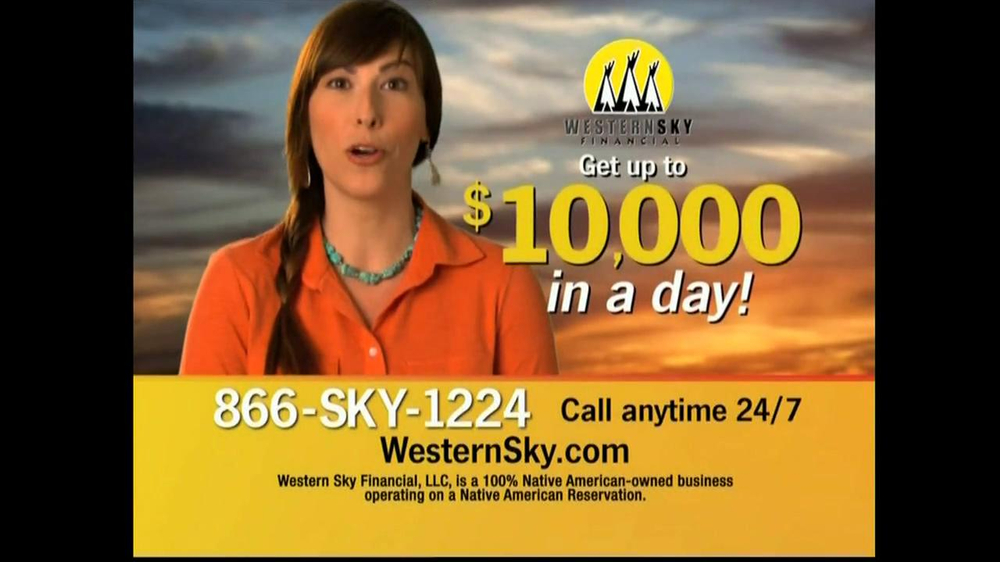 Western Sky Financial  TV Spot, '$10,000 in a Day' thumbnail