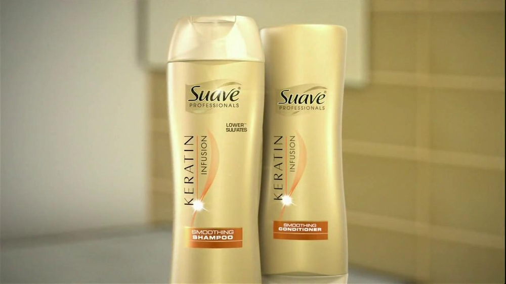 Suave TV Commercial For Professionals Keratin Infusion - iSpot.tv