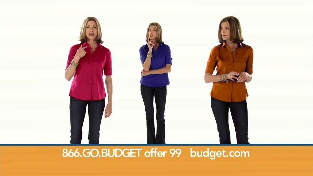 Budget Rent a Car TV Spot Featuring Wendie Malick - Screenshot 1
