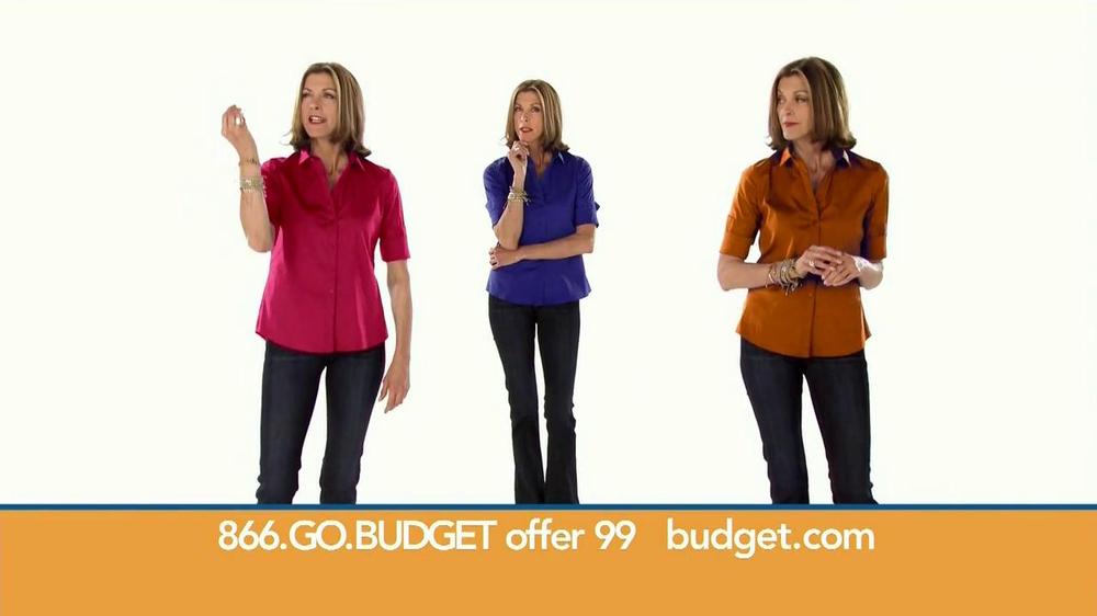 Budget Rent a Car TV Spot Featuring Wendie Malick - Screenshot 2