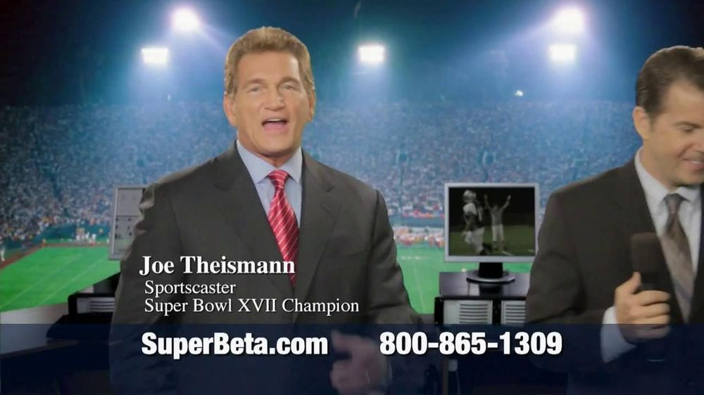 Super Beta Prostate TV Spot Featuring Joe Theismann - Screenshot 1