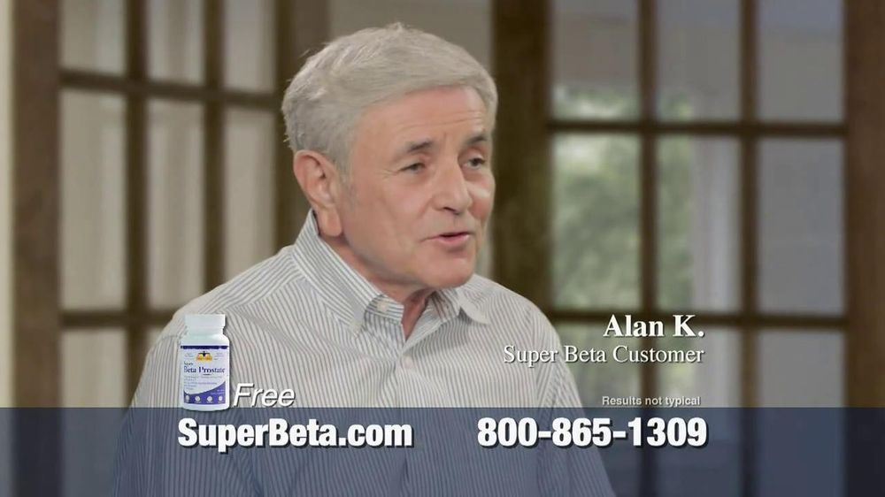Super Beta Prostate TV Spot Featuring Joe Theismann - Screenshot 8