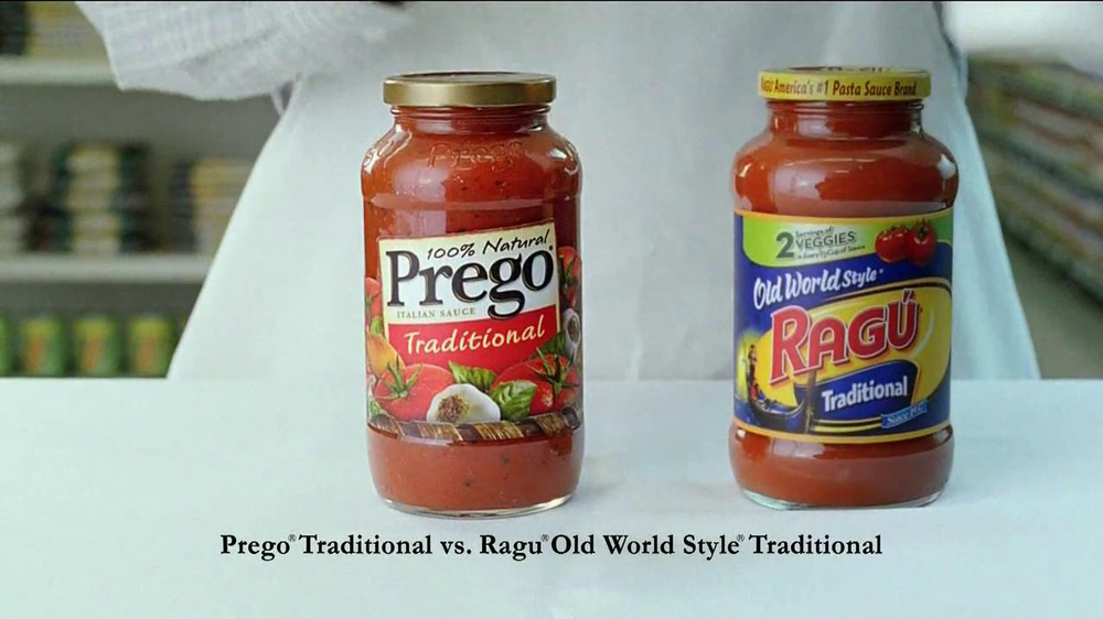 Prego TV Spot For Prego Vs. Ragu - Screenshot 3