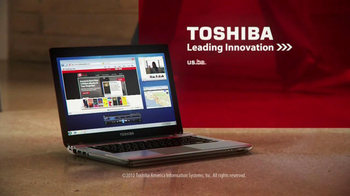 Toshiba Satellite P Series TV Spot