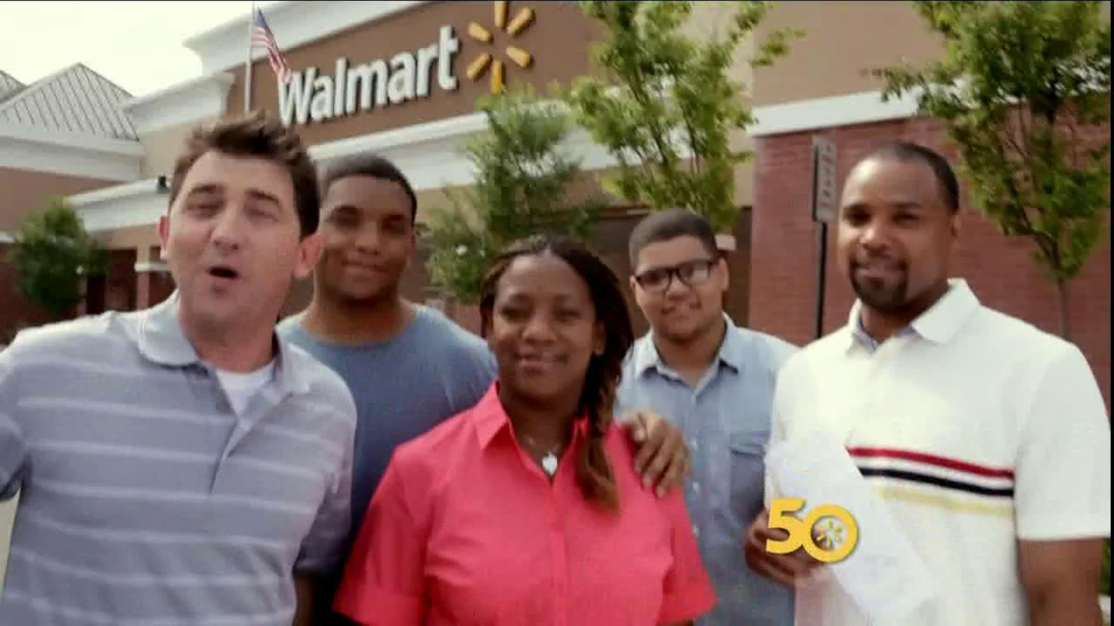 Walmart TV Spot Featuring The Smith Family - Screenshot 1