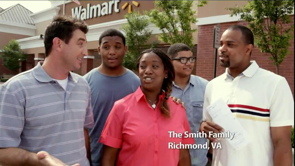 Walmart TV Spot Featuring The Smith Family - Screenshot 3