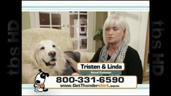Thunder Shirt TV Spot For Dog Anxiety