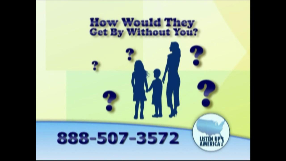 Listen Up America TV Spot, 'Life Insurance Policies' - Screenshot 4