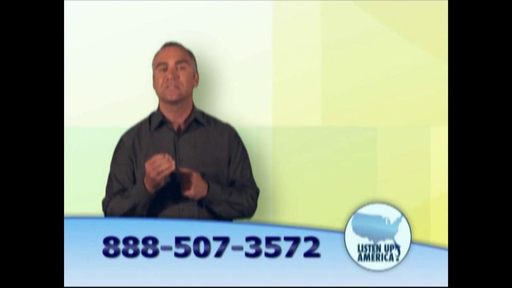 Listen Up America TV Spot, 'Life Insurance Policies' - Screenshot 6