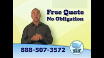Listen Up America TV Spot, 'Life Insurance Policies' - Thumbnail 10