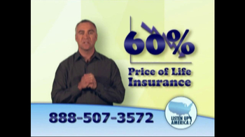 Listen Up America TV Spot, 'Life Insurance Policies' - Thumbnail 2