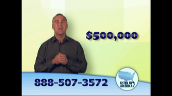 Listen Up America TV Spot, 'Life Insurance Policies' - Thumbnail 5