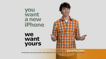 Gazelle.com TV Spot For Send In Old Phones thumbnail