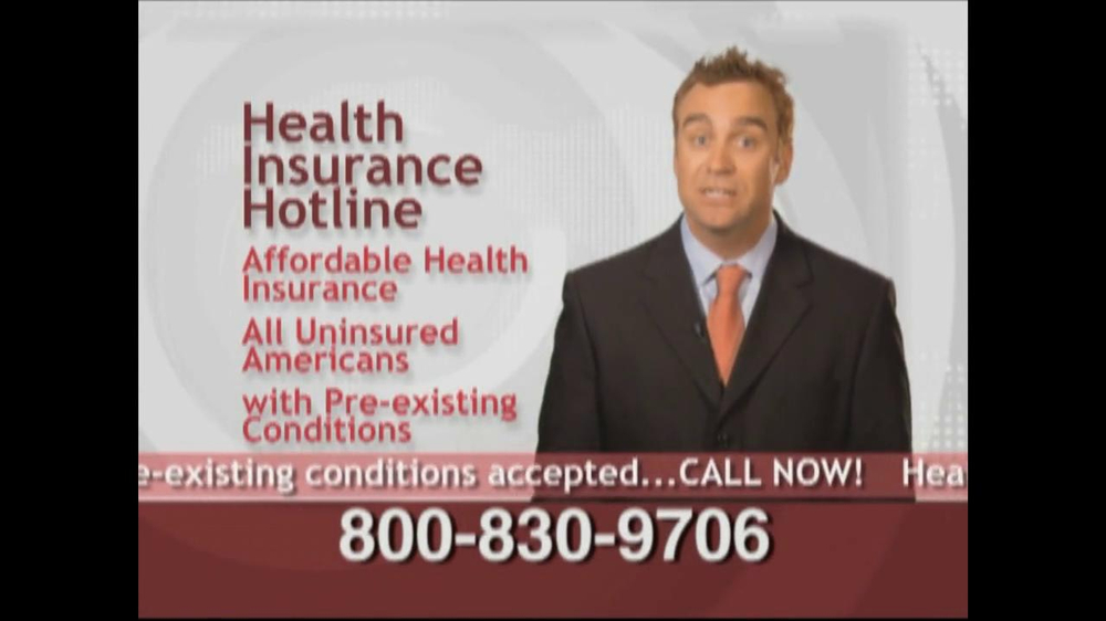 Health Insurance Hotline TV Spot For Health Insurance Update - Screenshot 7