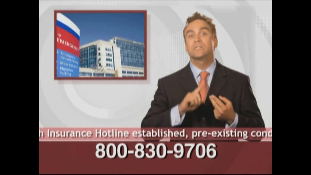 Health Insurance Hotline TV Spot For Health Insurance Update - Screenshot 9