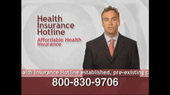 Health Insurance Hotline TV Spot For Health Insurance Update - Thumbnail 6
