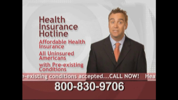 Health Insurance Hotline TV Spot For Health Insurance Update - Thumbnail 7