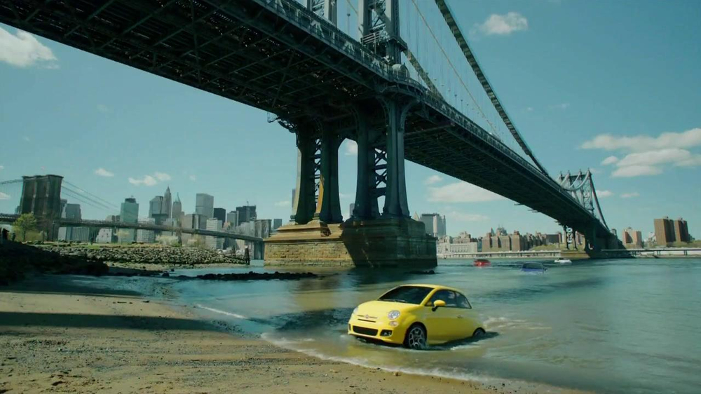 FIAT 500 TV Spot, 'Immigrants' Song by Pitbull Featuring Arianna - Screenshot 9