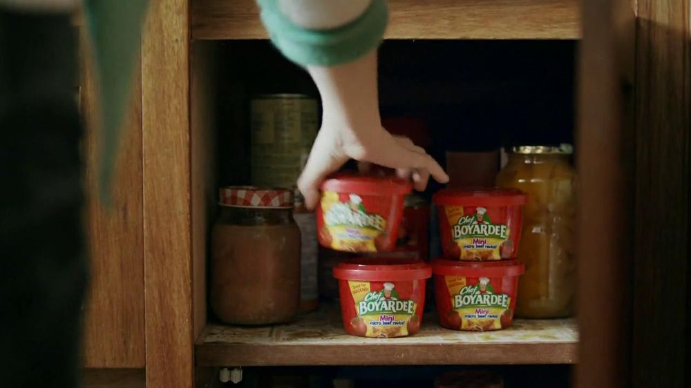 Chef Boyardee TV Spot For Ravioli Minis - Screenshot 2