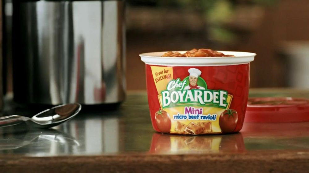 Chef Boyardee TV Spot For Ravioli Minis - Screenshot 5