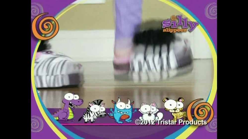 Silly Slippeez TV Spot for Slippers That Pop To Life - Screenshot 1