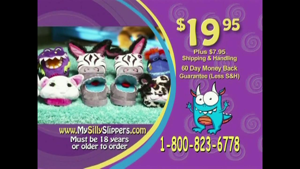 Silly Slippeez TV Spot for Slippers That Pop To Life - Screenshot 10