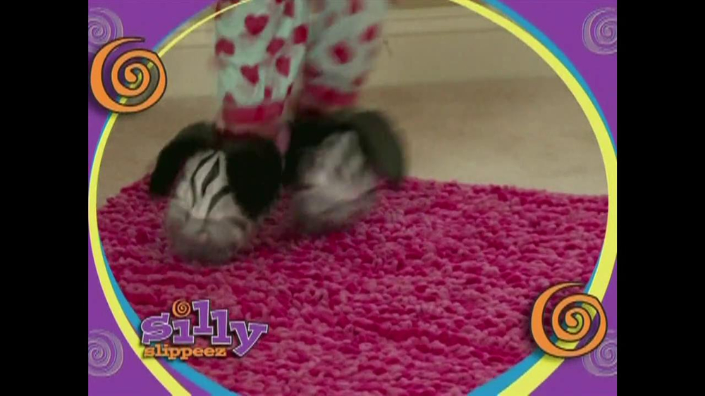Silly Slippeez TV Spot for Slippers That Pop To Life - Screenshot 2