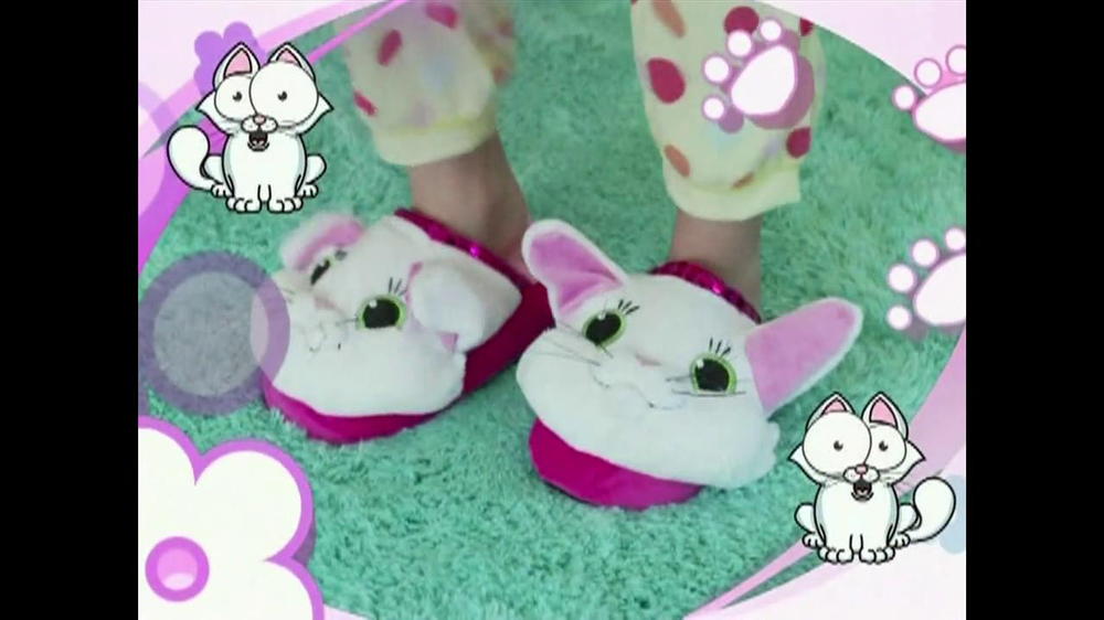 Silly Slippeez TV Spot for Slippers That Pop To Life - Screenshot 3