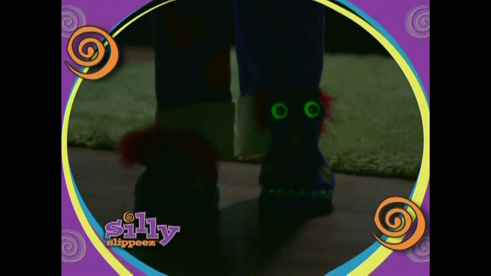 Silly Slippeez TV Spot for Slippers That Pop To Life - Screenshot 4