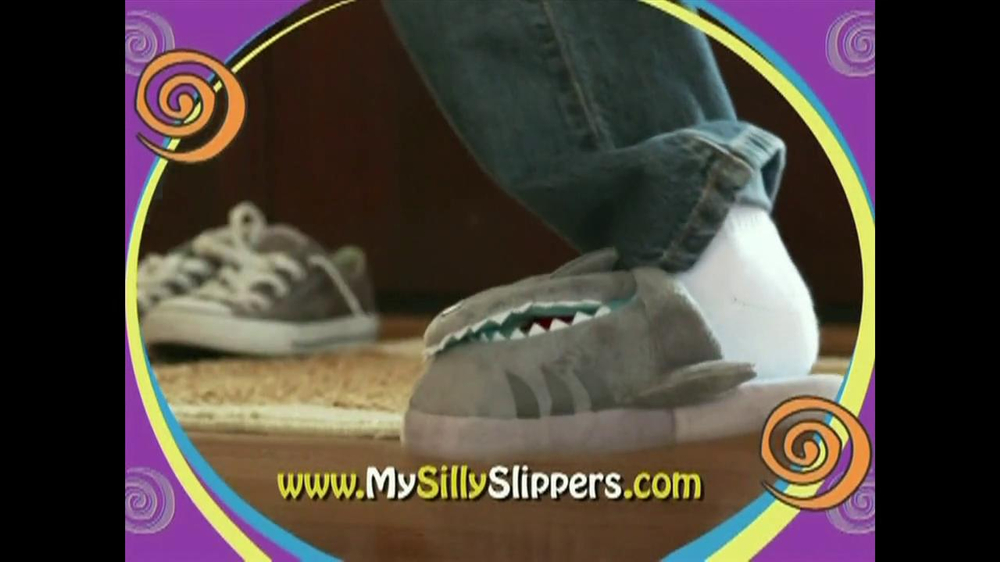 Silly Slippeez TV Spot for Slippers That Pop To Life - Screenshot 5