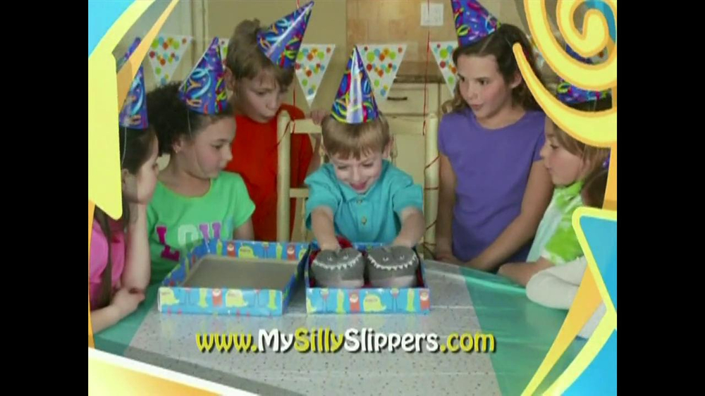 Silly Slippeez TV Spot for Slippers That Pop To Life - Screenshot 7