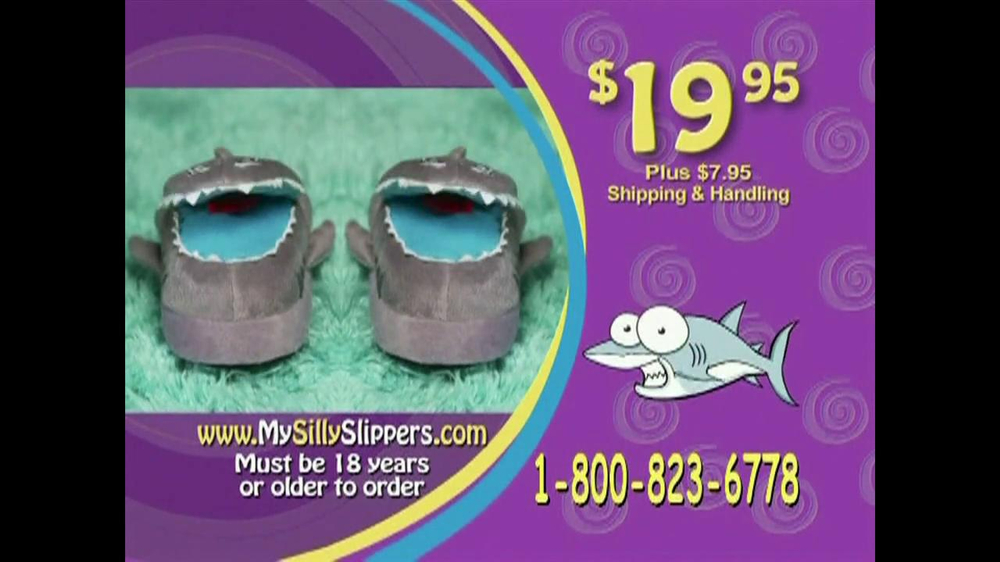 Silly Slippeez TV Spot for Slippers That Pop To Life - Screenshot 8