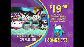 Silly Slippeez TV Spot for Slippers That Pop To Life - Thumbnail 10