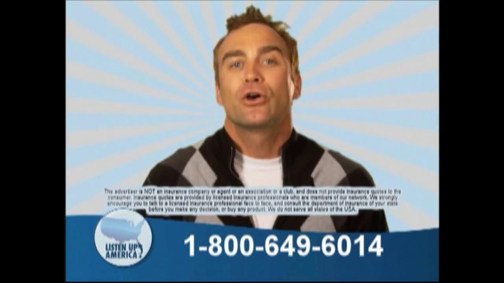 Listen Up America TV Spot, 'Health Insurance Helpline' - Screenshot 10