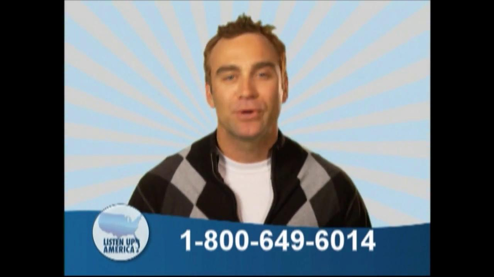 Listen Up America TV Spot, 'Health Insurance Helpline' - Screenshot 2