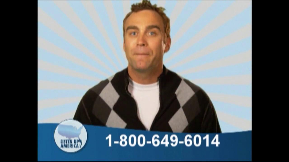 Listen Up America TV Spot, 'Health Insurance Helpline' - Screenshot 5